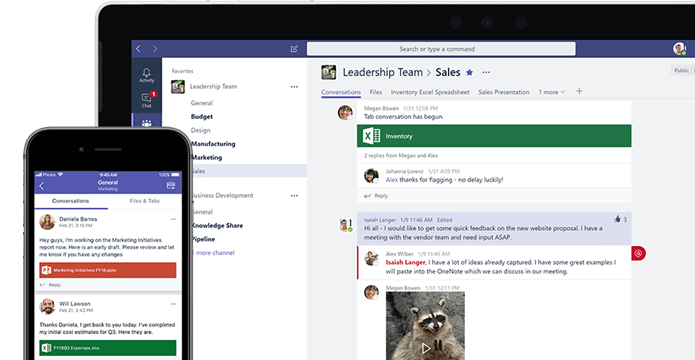 Access Microsoft Teams anytime, from any device